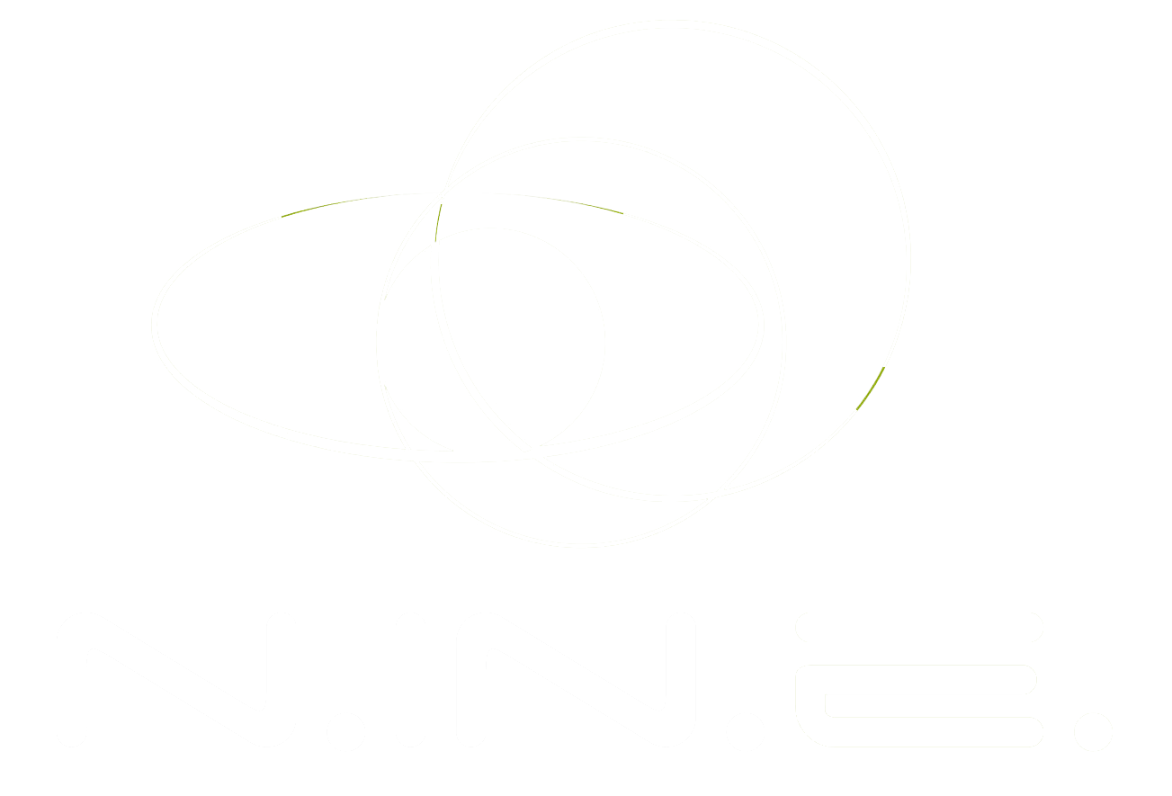 nine logo white
